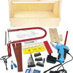 Leomark Tool Set with Wooden Tool Box – 47 pieces