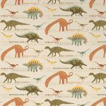 Dinosaur Wallpaper Natural and Green AS Creation 93633-10