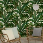 Versace Giungla Palm Leaves Wallpaper – Green and Cream – 10m x 70cm
