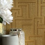 Versace Parvus Greek Key Wallpaper – Gold – 10m x 70cm 96236-1