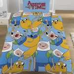 Adventure Time Single Reversible Duvet Cover Set