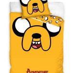 Adventure Time Jake Single Cotton Duvet Cover Set