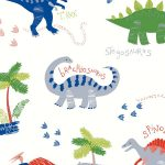 Dino Doodles Wallpaper – Multi – Arthouse 667500