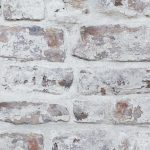 Whitewashed Brick Wallpaper White Arthouse 671100