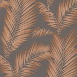 Precious Metals Ardita Leaves Wallpaper Copper Arthouse 673000