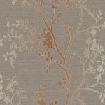 Precious Metals Orabella Wallpaper Copper Arthouse 673400