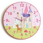 Woodland Fairies Princess Wall Clock