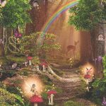 Magic Fairy Garden Wallpaper Arthouse 696009