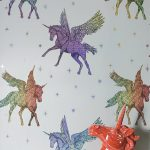 Holographic Unicorn Wallpaper Arthouse 294801