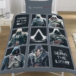 Assassin's Creed Legacy Single Duvet Cover and Pillowcase Set