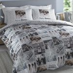 Hashtag Happy Dreamer Single Duvet Cover and Pillowcase Set
