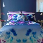 Lipsy London Mirrored Orchid King Size Duvet Cover Set