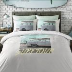 Volkswagen Coast Surfer Double Duvet Cover Set
