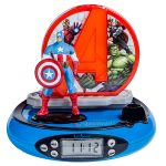 Marvel Avengers Radio Alarm Clock Projector