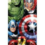 Marvel Avengers Attack Beach Towel