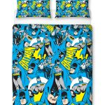 Batman Hero Double Duvet Cover and Pillowcase Set