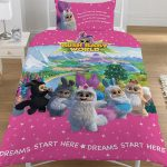 Bush Baby World Sparkle Single Duvet Cover Set