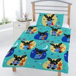 Bing Bunny Bedtime 4 in 1 Junior Bedding Bundle Set (Duvet and Pillow
