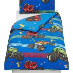 Blaze Vroom 4 in 1 Junior Bedding Bundle (Duvet, Pillow and Covers)