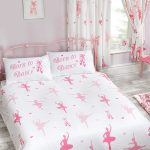 Born to Dance Ballerina Double Duvet Cover and Pillowcase Set