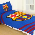 FC Barcelona Pulse Single Duvet Cover and Pillowcase Set