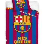 FC Barcelona Mes Que Un Club Single Duvet Cover Set