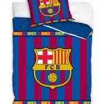 FC Barcelona Stripe Single Duvet Cover Set