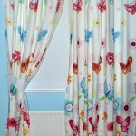 Butterflies Lined Curtains