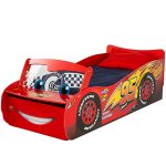Disney Cars Lightning McQueen Feature Toddler Bed with Storage and