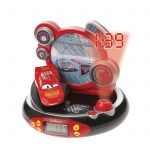 Disney Cars Radio Alarm Clock Projector