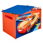 Disney Cars Toy Box – Blue and Red