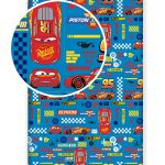 Disney Cars Single Fitted Sheet – Blue