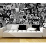 Creative Collage Life Designer Wall Mural – 64 Piece