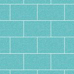 Crown London Tile Glitter Wallpaper Aqua M1122