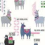 Crown Drama Llamas Wallpaper Multi M1378