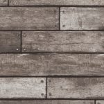 Charcoal Wooden Plank Effect Wallpaper Fine Decor FD31290