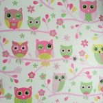 Owls Wallpaper Pink Debona 6327
