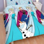 Disney Frozen Lights Double Duvet Cover and Pillowcase Set