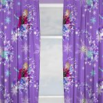 Disney Frozen Snowflake Curtains
