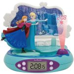 Disney Frozen Radio Alarm Clock Projector
