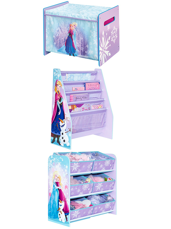 Disney Frozen Bedroom Furniture Storage Set | Character ...
