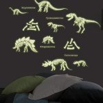 Dinosaurs Glow in the Dark Wall Stickers