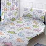 Dinosaurs Junior Toddler Duvet Cover and Pillowcase Set