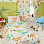 Dinosaur World 4 in 1 Junior Bedding Bundle Set (Duvet, Pillow and