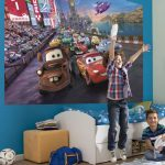 Disney Cars Race Photo Wall Mural 254 x 183cm