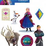 Disney Frozen Wall Stickers – 14 Pieces