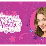 Disney Violetta Heart Self Adhesive Wallpaper Border 5m