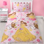 Disney Princess Belle Royal Single Duvet Cover and Pillowcase Set