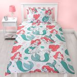 Disney Princess Ariel Little Mermaid Single Duvet Cover Set