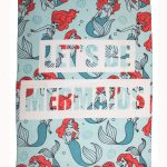 Disney Princess Ariel Oceanic Fleece Blanket